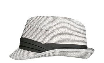 colección 2012 Zara sombrero panamá gris