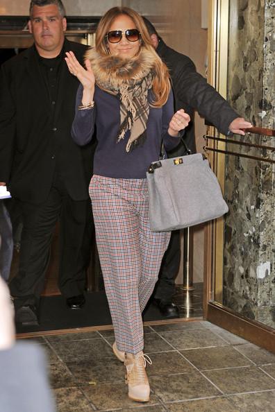 Pantalones Capri, Jennifer López