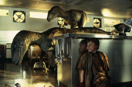 Raptor en la cocina