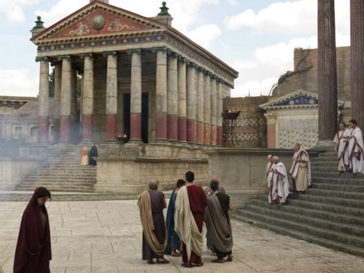 Cinecittá, escenario de Imperium