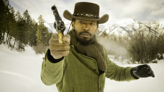 Django desencadenado Jamie Foxx