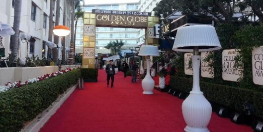 Globos de Oro alfombra roja