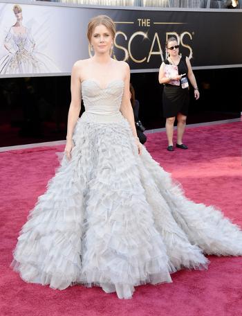 Amy Adams Oscar de la renta