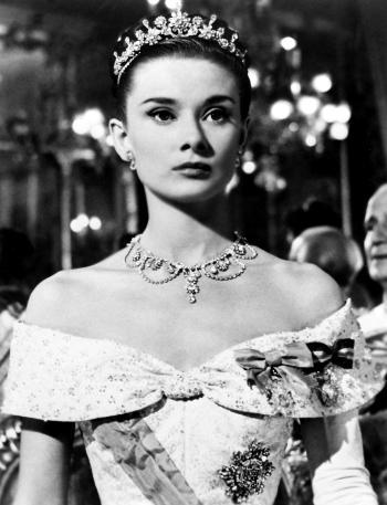 Audrey Hepburn roman holiday tiara