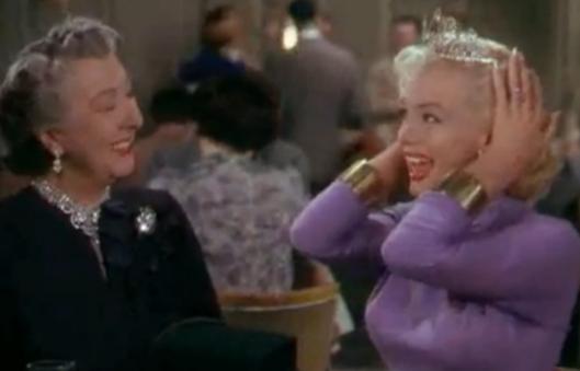 Marilyn Monroe los caballeros las prefieren rubias