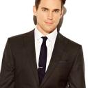 Caffrey Collection Matt Bomer grey suit