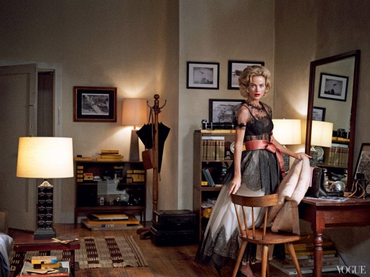 Carolyn Murphy de Dolce & Gabanna