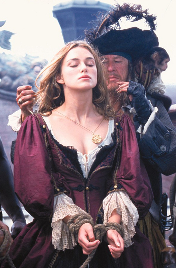Elizabeth barbossa's dress keira knightley