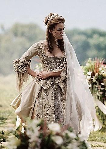 Elizabeth vestido de novia