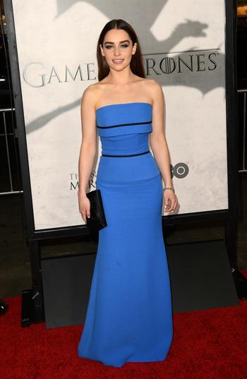 Emilia Clarke Premiere Juego de Tronos