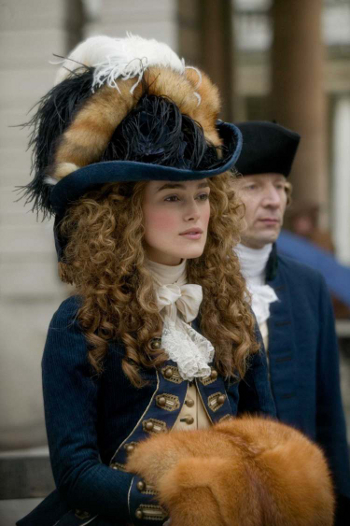 Keira Knightley the duchess costume