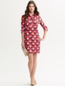 Mad Men Banana Republic vestido camisero