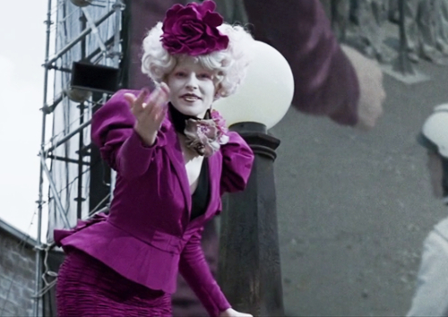 The Hunger Games costume effie