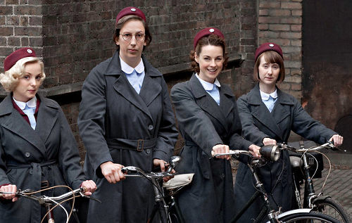 Uniforms call the midwife