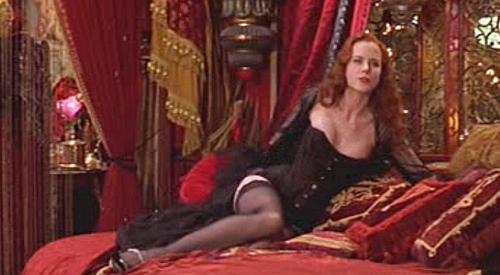 Corsé negro Moulin Rouge