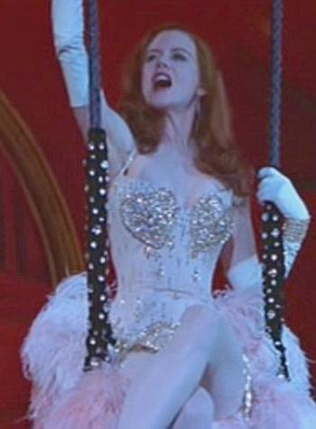 Moulin Rouge pink dress