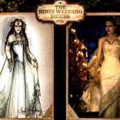 The Indi Wedding dress Moulin Rouge