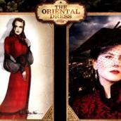 The Oriental Dress Moulin Rouge