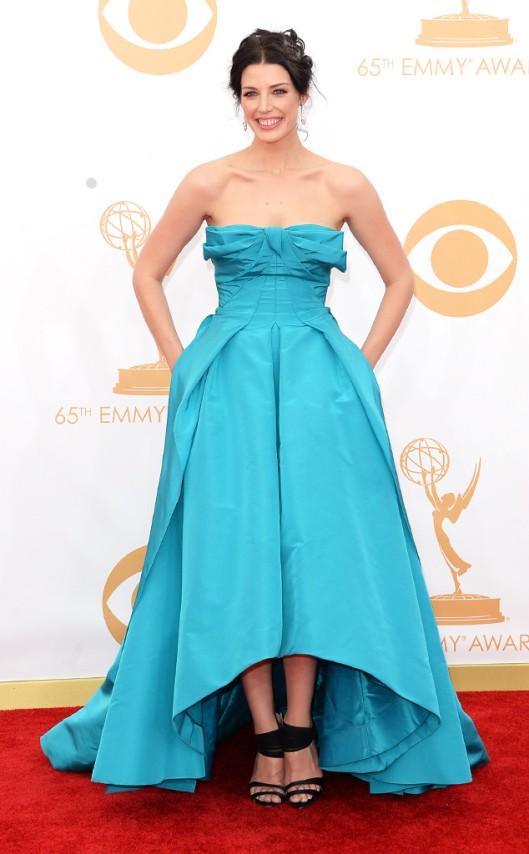 Jessica Paré Emmys 2013