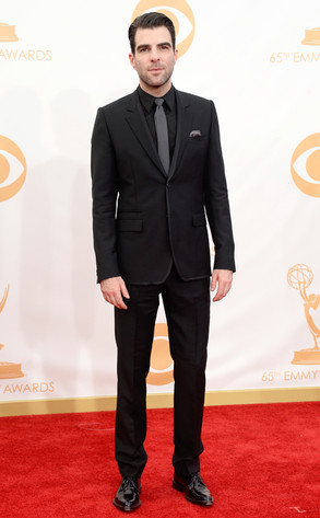 Zachary Quinto Emmys 2013