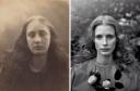 """La fotógrafa Julia Margaret Cameron retrató en su día a su sobrina en """"Christabel"""" (1866). La más natural de las adaptaciones en la que destaca el vestido con flores de Bad of Outsiders."""