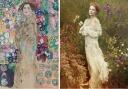 """Gustav Klimt firma """"Frauenbildnis"""" (Retrato de Ria Munk III) y Annie Leivobitz lo rescata con la ayuda de Vera Wang"""