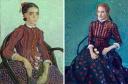 """""""La mousmé"""" de Van Gogh una obra influenciada por la cultura japonesa es perfecta para Jessica Chastain que se transforma en un cuadro viviente gracias al vintage Alexander McQueen"""