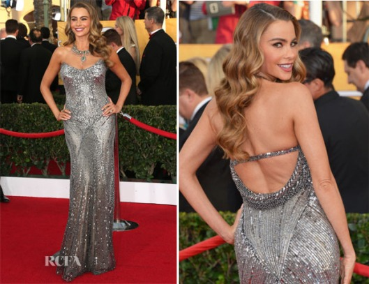 Sofía-Vergara-In-Donna-Karan-Atelier-2014-SAG-Awards