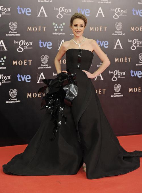 Alfombra roja Premios Goya Silvia Abascal