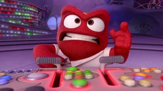 Anger, el personaje más encorsetado de Inside Out