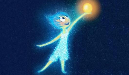 Inside Out, Joy la explosión de luz